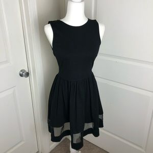Necessary Objects Black Tulle Party dress